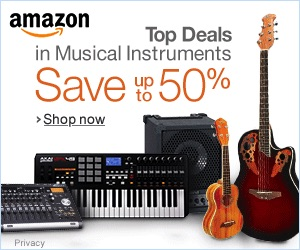 top deals in musical instruments on Amazon