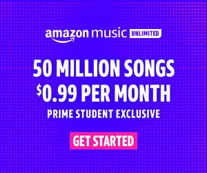 How to start listening prime student exclusive music on Amazon