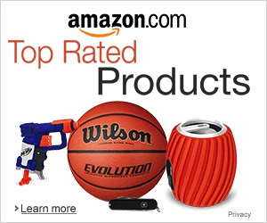 What are the most rated products on Amazon