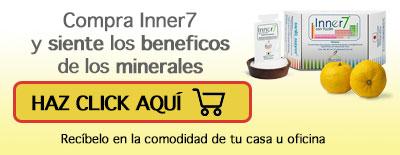Comprar Inner 7 en internet, favorece al sistema de quema de grasa